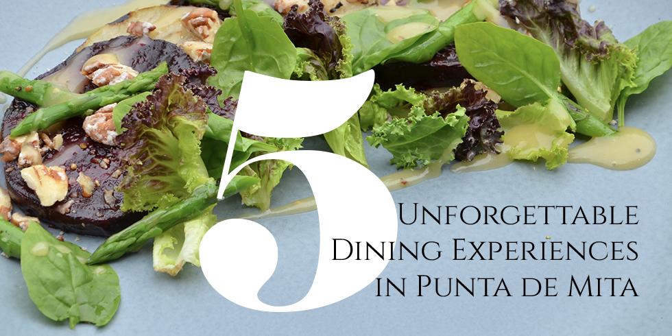 Five Unforgettable Dining Experiences in Punta de Mita